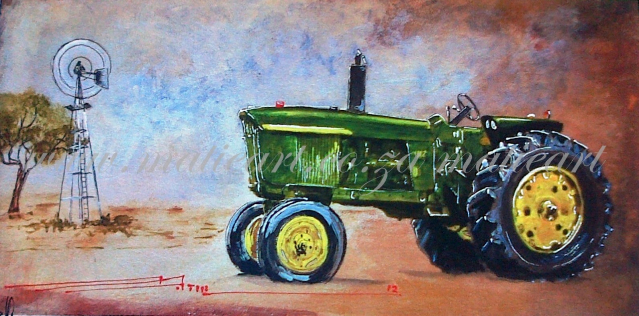 Girly John Deere Paintings : Images john deer matie botha artist